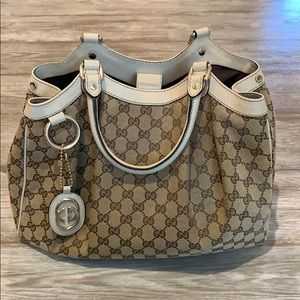Gucci Sukey Monogram Medium Hobo Bag